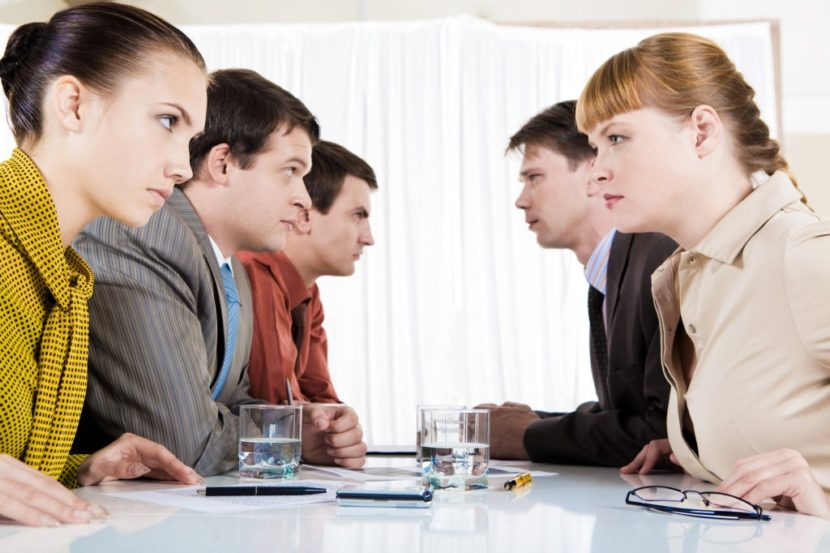 Помощь психолога при конфликтах на работе
